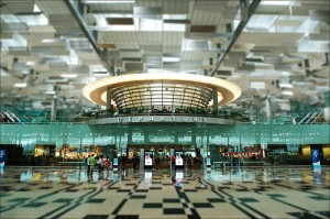 Changi Airport departures